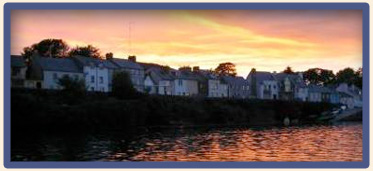 Roundstone Harbour at Sunset